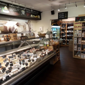 Shop of The Cheddar Deli in Ealing, London