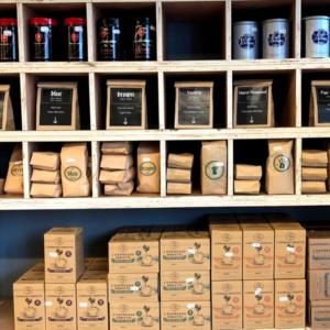 Doppio Coffee Warehouse in West Ealing, London