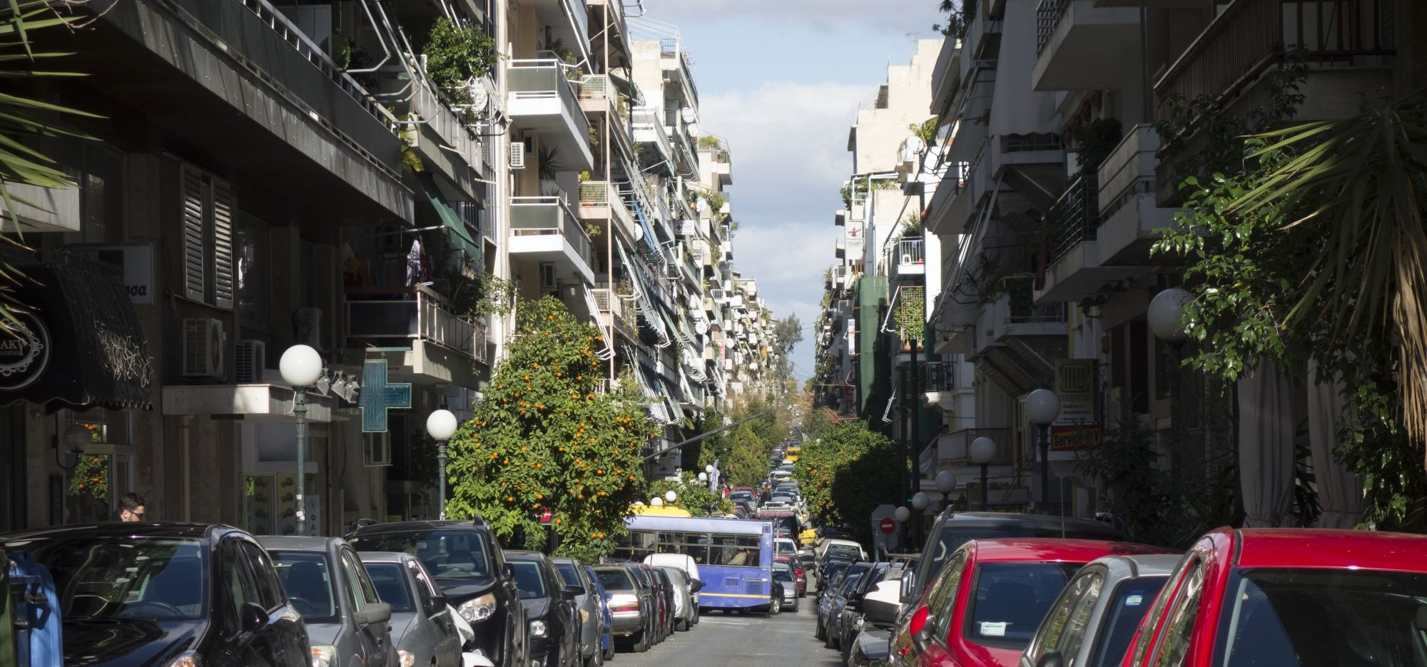 How Athens' modernist polikatoika came to define its mixed social fabric