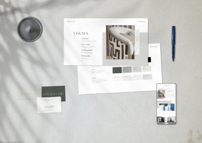 New brand for a bespoke furniture & interior design maker: Studio LBI