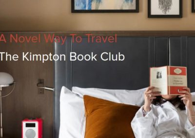 Brand initiative for Kimpton Hotels & Restaurants: A Novel Way to Travel